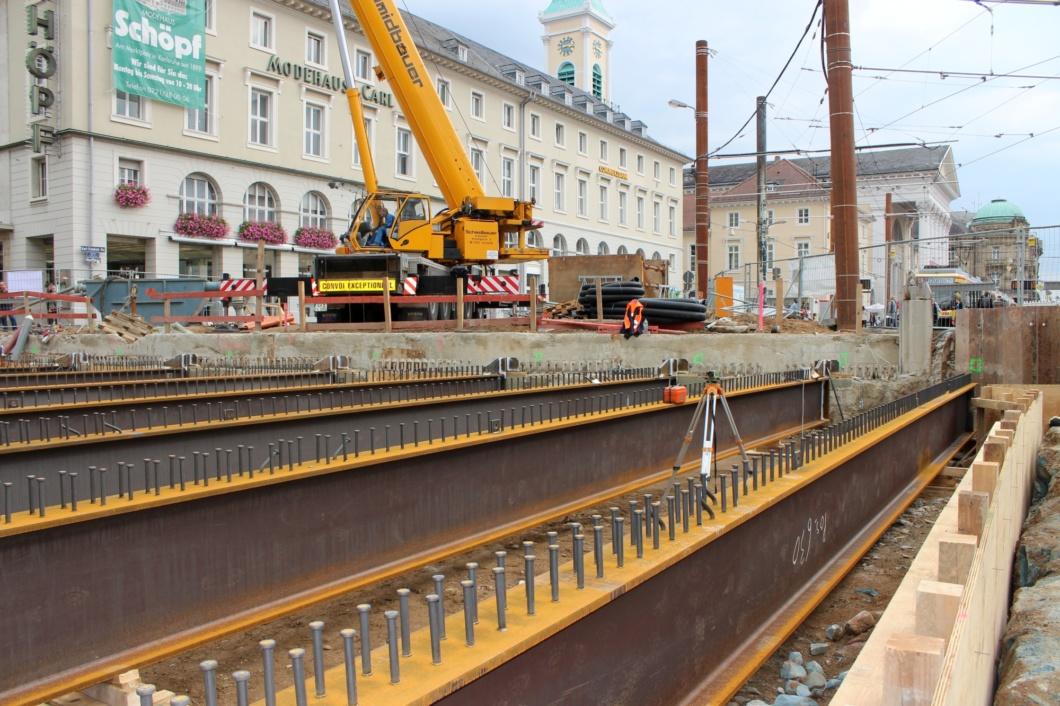 Karlsruhe Trägermontage